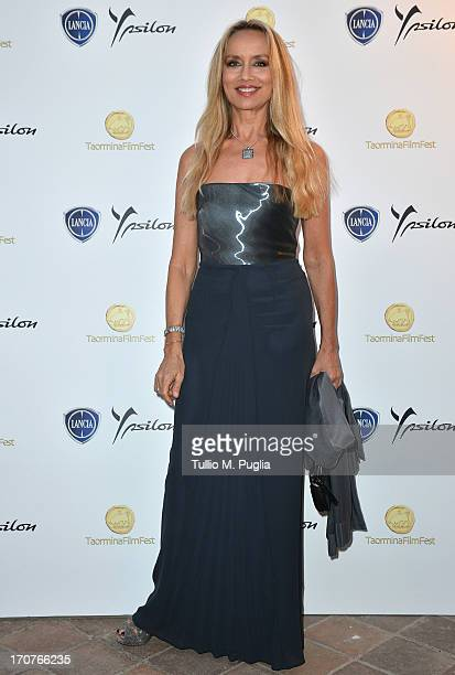 Gloria Guida attends the Lancia Cafe during the Taormina Filmfest 2013 on June 17, 2013 in Taormina, Italy.