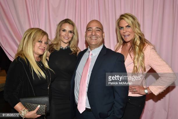 Gloria Hollis, Brooke Mueller, Oneil Khosa and Lori Stoll attend Susan G. Komen presents the 8th Annual Perfect Pink Party on Bahamas Paradise Cruise...