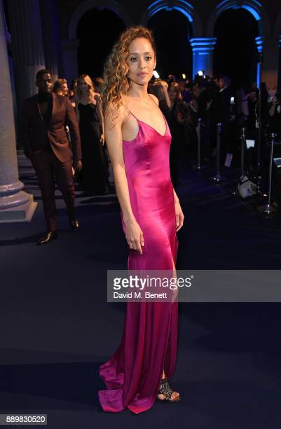Gloria Huliwer attends the British Independent Film Awards held at Old Billingsgate on December 10 2017 in London England