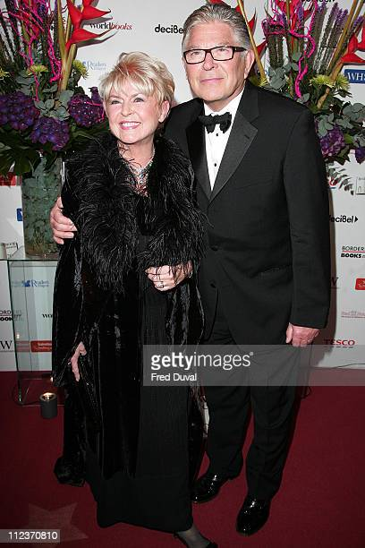 Gloria Hunniford and Guest during British Book Awards 2006 Arrivals at Grosvenor House in London Great Britain