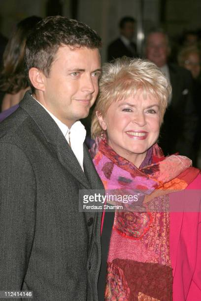 Gloria Hunniford and guest during Murderous Instincts Opening Night Arrivals at The Savoy Theatre in London Great Britain
