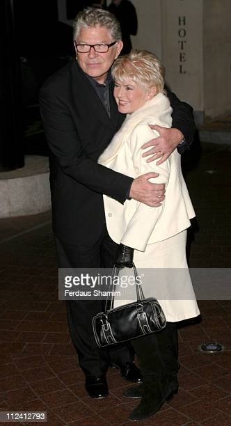 Gloria Hunniford and guest during North Country Gala London Screening Outside Arrivals at Soho Hotel in London Great Britain