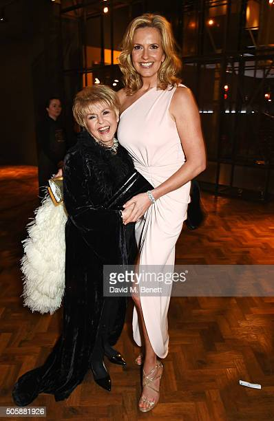 Gloria Hunniford and Penny Lancaster attend the 21st National Television Awards at The O2 Arena on January 20 2016 in London England