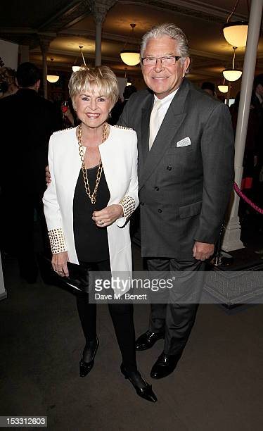 Gloria Hunniford and Stephen Way arrive at The Inspiration Awards For Women 2012 at Cadogan Hall on October 3 2012 in London England