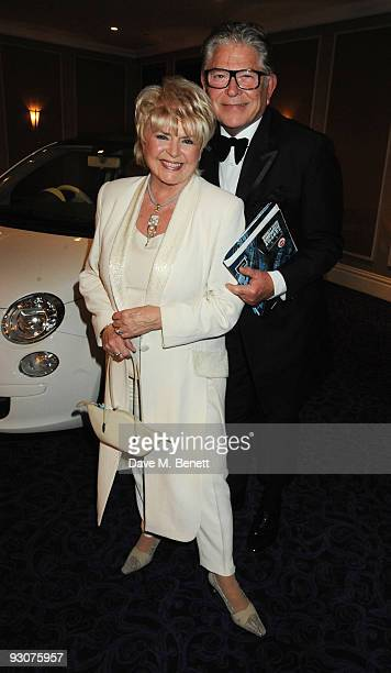 Gloria Hunniford and Stephen Way attend the Variety Club Showbiz Awards at the Grosvenor House on November 15 2009 in London England