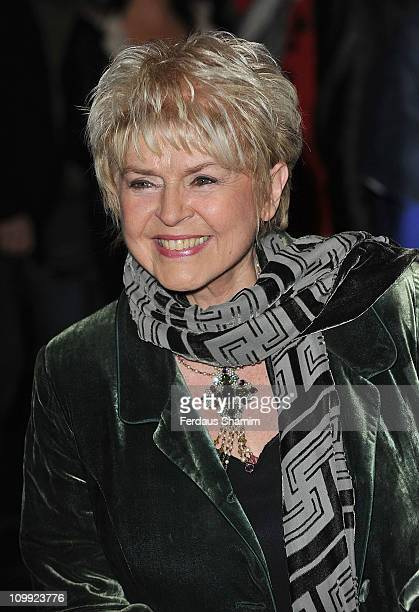 Gloria Hunniford attends the press night of 'Flare Path' at Theatre Royal on March 10 2011 in London England