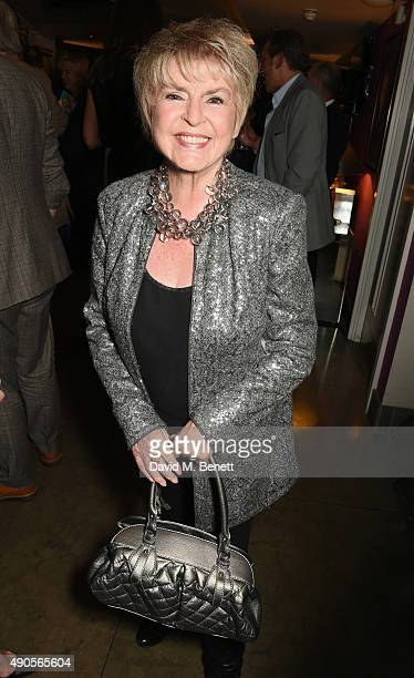 Gloria Hunniford attends the press night of Pure Imagination The Songs of Leslie Bricusse at the St James Theatre on September 29 2015 in London...