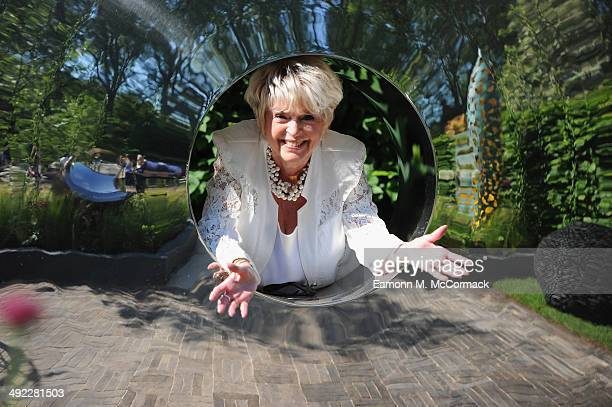 Gloria Hunniford attends the VIP preview day of The Chelsea Flower Show at The Royal Hospital Chelsea on May 19 2014 in London England
