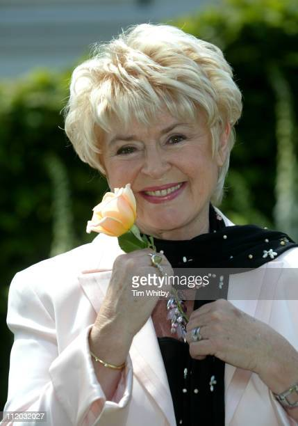 Gloria Hunniford during Chelsea Flower Show 2005 at Royal Hospital Chelsea in London Great Britain