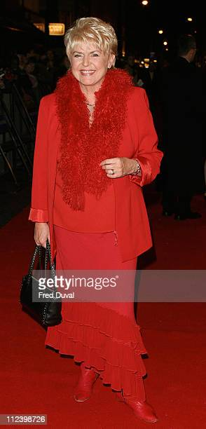 Gloria Hunniford during Mary Poppins West End Opening Night at Prince Edward's Theatre in London Great Britain