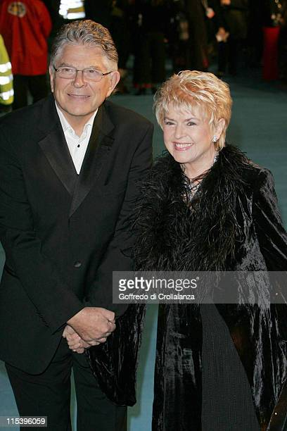 Gloria Hunniford during Mrs Henderson Presents London Premiere at Vue West End in London Great Britain