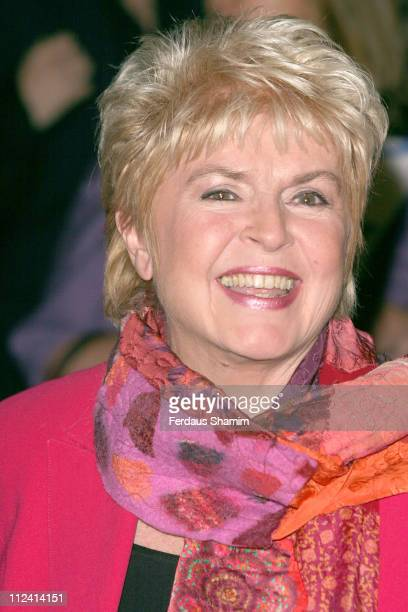Gloria Hunniford during Murderous Instincts Opening Night Arrivals at The Savoy Theatre in London Great Britain