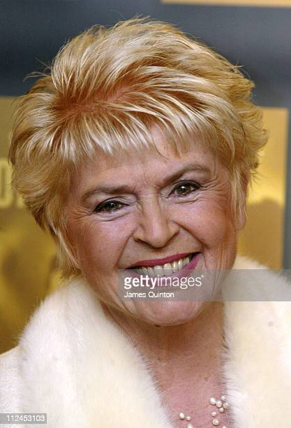 Gloria Hunniford during Music Industry Trust Awards 2005 at Grosvenor House Hotel in London Great Britain