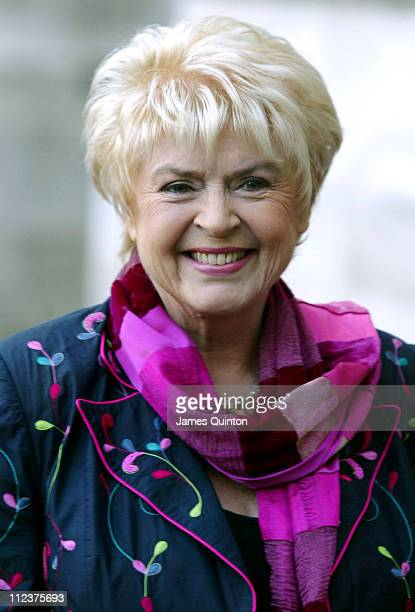 Gloria Hunniford during Woman's Own 2005 Children of Courage Awards at Westminster Abbey in London Great Britain