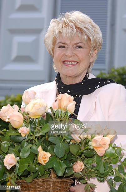Gloria Hunniford with the 'Caron Rose' named after her daughter Caron Keating who died of breast cancer in 2004