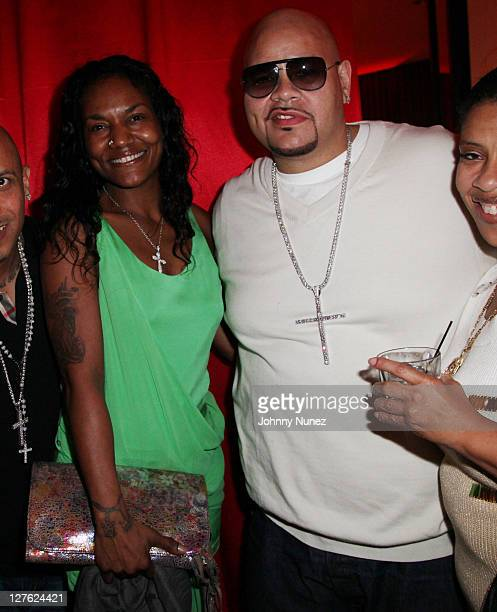 Gloria James and Fat Joe attend Timbaland's birthday party at the Chop House on March 9 2011 in Miami Florida