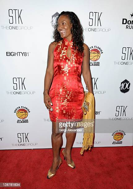 Gloria James attends a dinner to kickoff South Florida All Star Classic at STK on October 7 2011 in Miami Florida