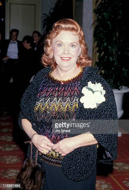 Gloria Jean during 4th Annual American Cinema Awards at Beverly Wilshire Hotel in Beverly Hills, CA, United States.