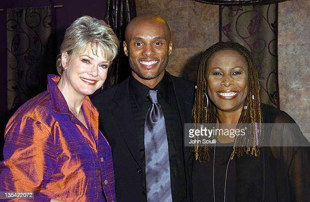 Gloria Loring Kenny Lattimore and Brenda Russell during Celebrity Benefit Concert to Remember Carl Anderson at Agape International Spiritual Center...