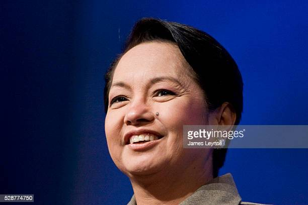 Gloria Macapagal-Arroyo, President of the Philippines at the 2007 Annual Meeting of the Clinton Global Initiative in New York City.