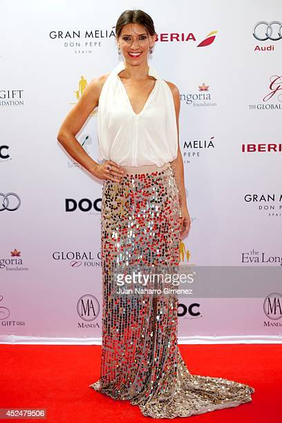 Gloria Morales attends Global Gift Gala 2014 at Melia Don Pepe Hotel on July 20 2014 in Marbella Spain