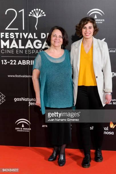 Gloria Munoz and Marta Diaz attend Malaga Film Festival 2018 presentation at Circulo de Bellas Artes on April 5 2018 in Madrid Spain