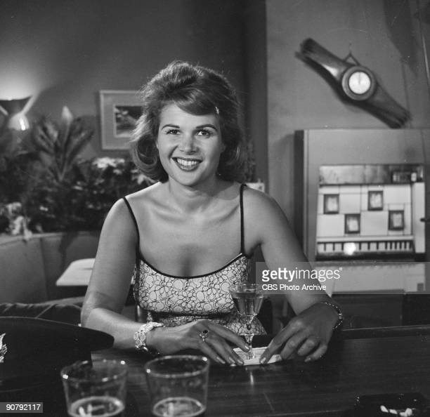 ZONE Gloria Pall as the girl in the bar in And When the Sky Was Opened Season 1 Episode 11 of CBS' science fiction television series 'The Twilight...