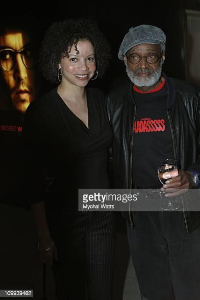 Gloria Reuben and Melvin Van Peebles during Mario Van Peebles Melvin Van Peebles and Sony Pictures Present a Special Screening Of Baadasssss at Sony...