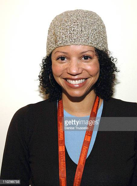 Gloria Reuben at Zola Hats during 2007 Park City Luxury Lounge Day 3 at Media Placement Luxury Lounge in Utah United States