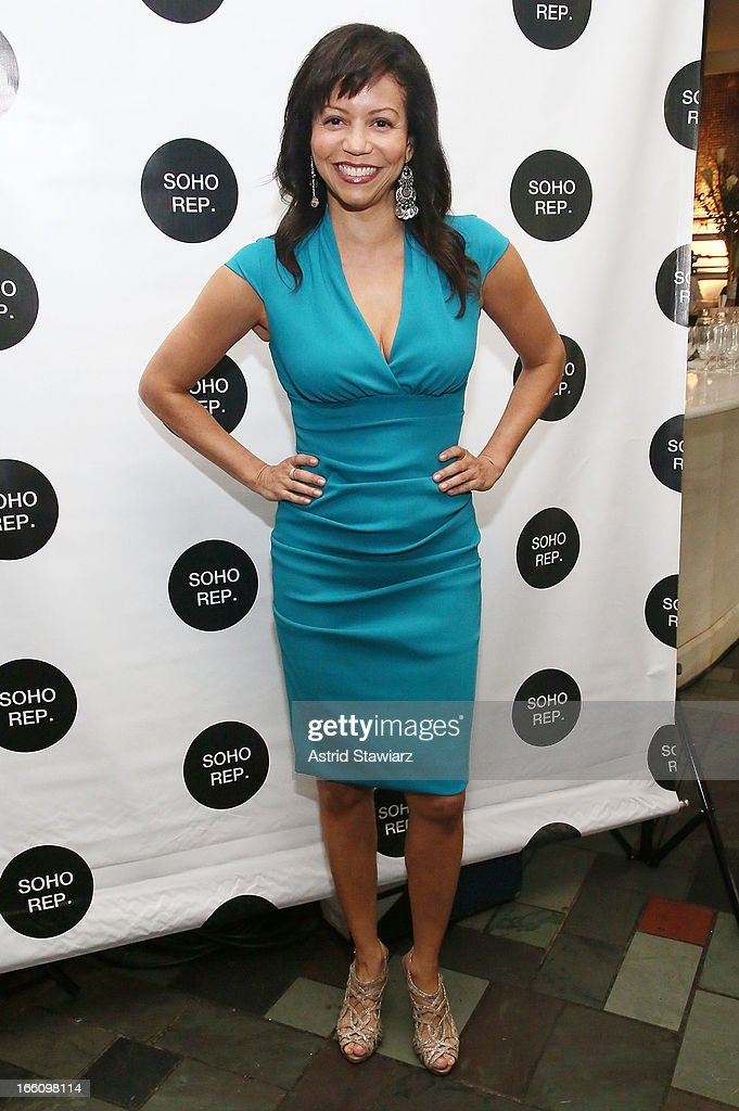 Gloria Reuben attends Soho Rep's 2013 Spring Gala on April 8, 2013 in New York City.