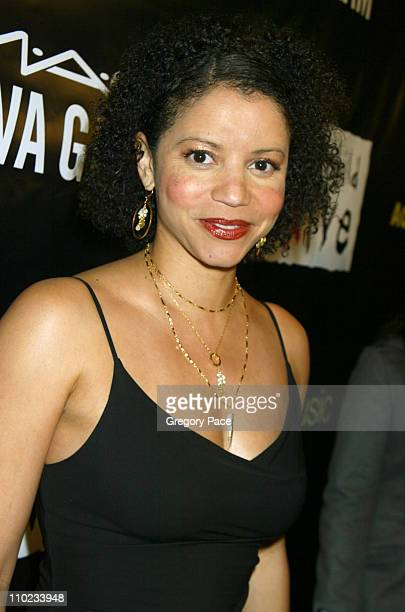 Gloria Reuben during Alicia Keys Presents 'The Pusher's Ball' to Benefit Keep A Child Alive Inside Arrivals at Angel Orensanz in New York City New...