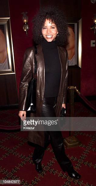 Gloria Reuben during 'Bounce' Premiere at Ziegfeld Theatre in New York City New York United States