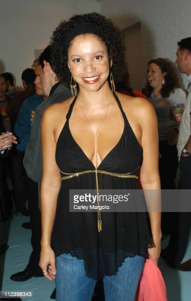 Gloria Reuben during Exhibition of 'Photos of Alan Cumming' by Steve Vaccariello for the Launch of 'Cumming the Fragrance' at Space Downtown in New...