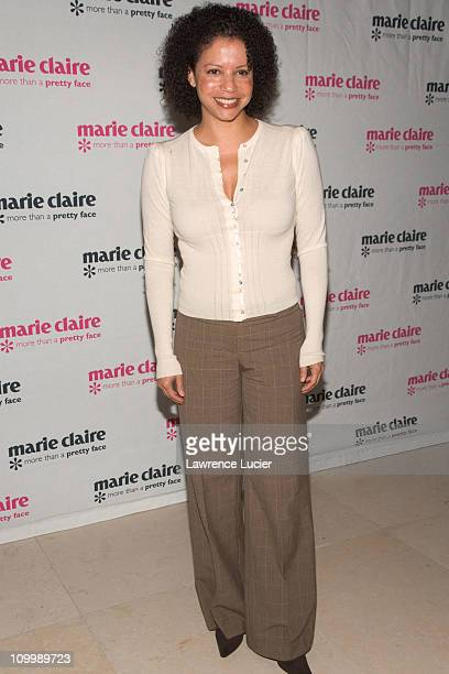 Gloria Reuben during Marie Claire and Ashley Judd Host A Special Screening of Ashley Judd and YouthAIDS Confronting The Pandemic November 16 2006 at...