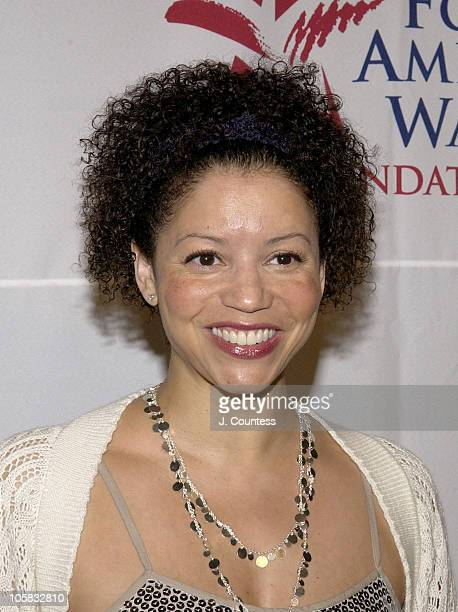 Gloria Reuben during People for the American Way Foundation 2005 Awards Dinner at The Plaza in New York City New York United States
