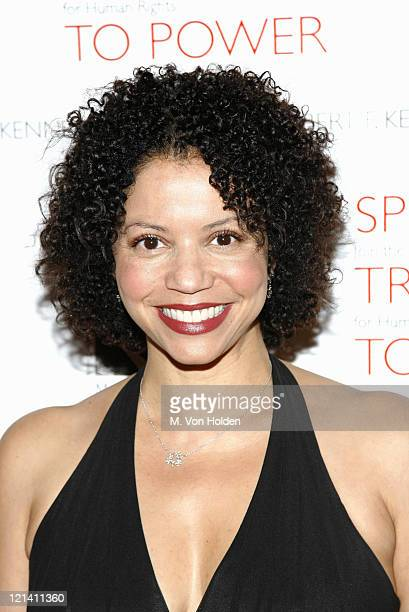 Gloria Reuben during RFK Memorial Celebrity Gala Honoring President Clinton and Human Rights Defenders at Chelsea Piers/Pier 60 in New York City New...