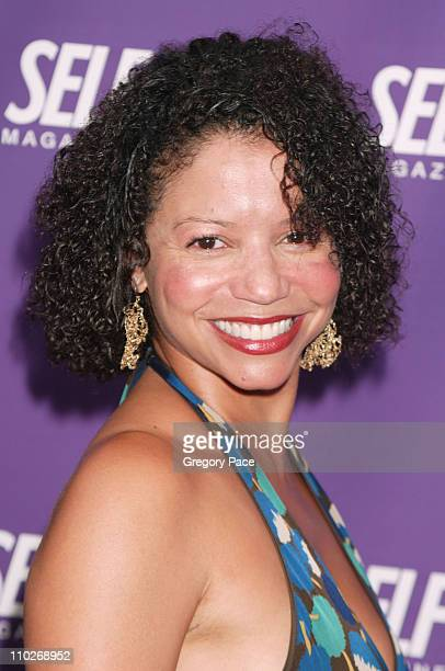 Gloria Reuben during The Grand Opening of the 'Self Magazine' Self Center Arrivals and Inside the Party at Self Center in New York City New York...
