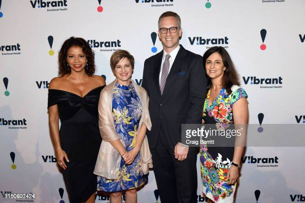 Gloria Reuben Vibrant President and CEO Kimberly Williams Charles P Fitzgerald and Dinner Chair and Board Chair Jennifer Ashley attend 27th Annual...