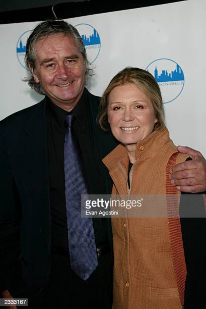 Gloria Steinem and husband David Bale attending CitymealsOnWheels 16th Annual Power Lunch for Women at the Rainbow Room in New York City November 18...