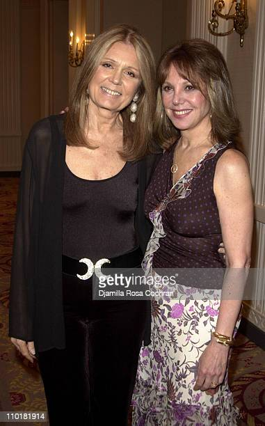 Gloria Steinem and Marlo Thomas during 15th Annual Gloria Steinem Awards at Waldorf Astoria Hotel in New York City New York United States