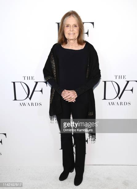 Gloria Steinem attends 10th Annual DVF Awards at Brooklyn Museum on April 11 2019 in New York City