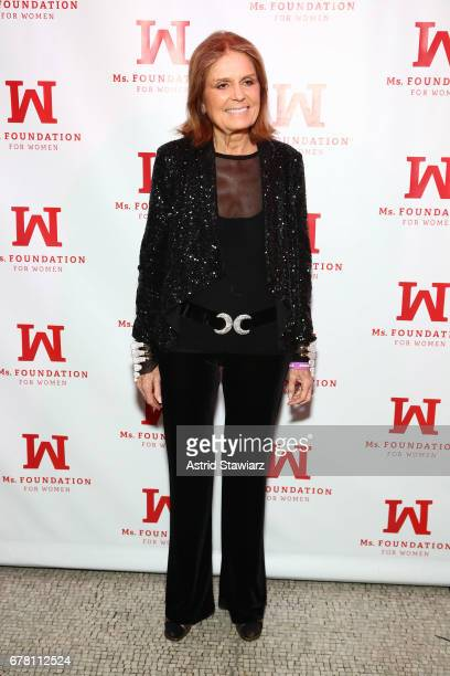 Gloria Steinem attends the Ms. Foundation for Women 2017 Gloria Awards Gala & After Party at Capitale on May 3, 2017 in New York City.