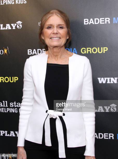 Gloria Steinem attends the Winning Play$ Black Women Feminism Empowerment panel at The Paley Center for Media on June 26 2017 in New York City