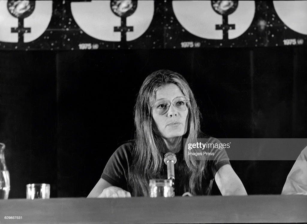 Gloria Steinem circa 1974 in New York City.