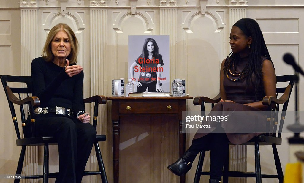 Gloria Steinem Discusses 'My Life On The Road' : News Photo