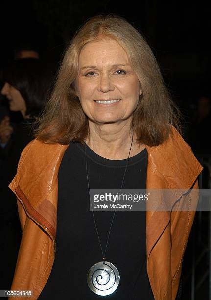 """Gloria Steinem during The IFP Market and Conference Premiere of """"The Machinist"""" - Inside Arrivals at Ziegfeld Theater in New York City, New York,..."""