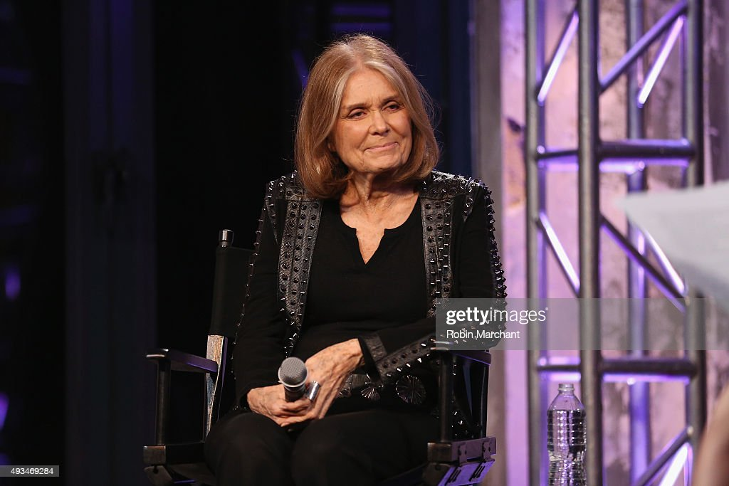 AOL's MAKERS Celebrates Gloria Steinem's New Book: MY LIFE ON THE ROAD : News Photo