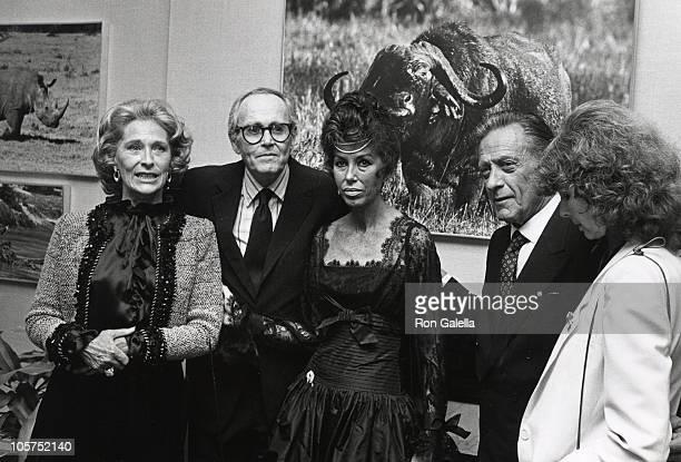 Gloria Stewart Henry Fonda Claude Parfet William Holden and Shirlee Fonda