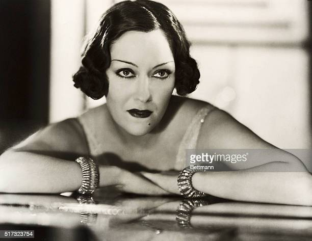 1933 Gloria Swans on film actress and glamour queen in a publicity still for her film Perfect Understanding
