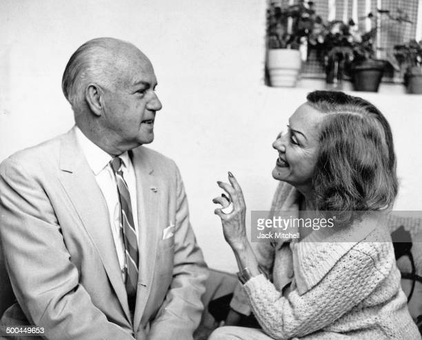 Gloria Swanson and pioneer of American modern dance Ted Shawn in 1966